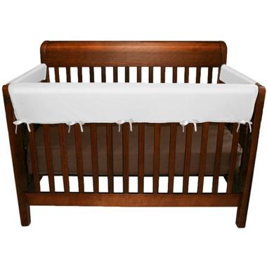 Jolly Jumper Soft Crib Rail Covers White