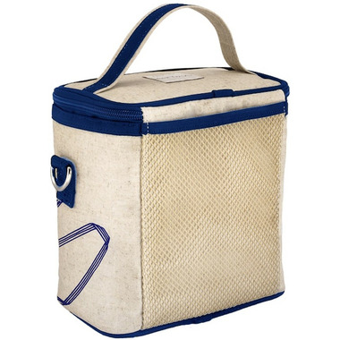 SoYoung Raw Linen Pathways Large Cooler Bag