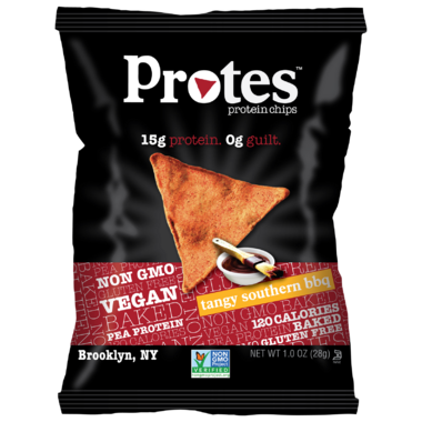 Protes Protein Chips Tangy Southern BBQ