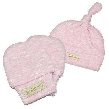 Juddlies Newborn Cap & Mitts Pink Bundle