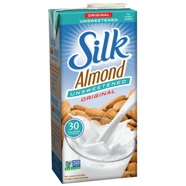 Silk True Almond Unsweetened Original