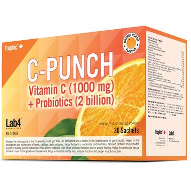 Trophic C-Punch Vitamin C + Probiotics