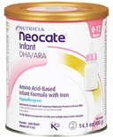 Neocate DHA/ARA Amino Acid Based Infant Formula with Iron