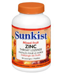 Sunkist Zinc Throat Lozenge with Echinacea & Vitamin C