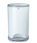 Dekor Mini Diaper Pail White