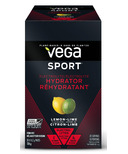 Vega Sport Electrolyte Hydrator Singles Box Lemon Lime