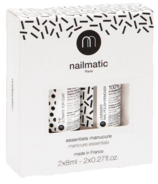 nailmatic Essential Set Top coat & Plant-based Lavender Nail Polish Remover