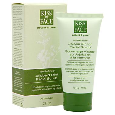 Kiss My Face Potent & Pure So Refined Jojoba & Mint Facial Scrub