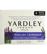 Yardley English Lavender Naturally Moisturizing Botanical Soap