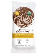 Element Snacks Gâteaux de riz enrobés de chocolat au lait biologique