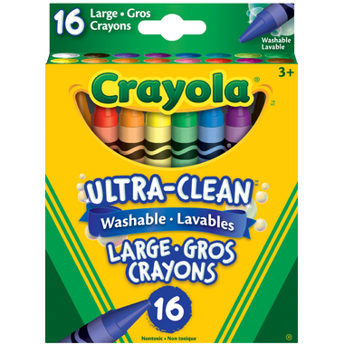 Crayola Ultra-Clean Washable Large Crayons