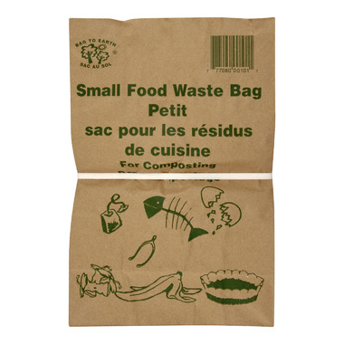 Bag to Earth Food Waste Bags for Composting