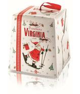Amaretti Virginia Traditional Panettone Santa Box