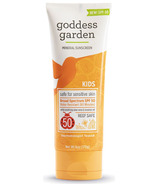 Goddess Garden Kids SPF 50 Natural Sunscreen Tube