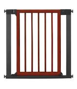 Munchkin Designer Wood & Steel Gate