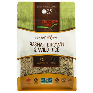 Floating Leaf Brown Basmati & Wild Rice