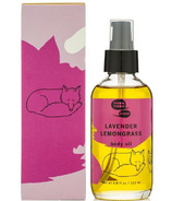 meow meow tweet Body Oil Lavender Lemongrass