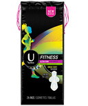 U by Kotex Fitness Ultra Thin Pads Heavy
