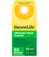 Renew Life Ultimate Flora Colon Care 80 Billion Active Cultures
