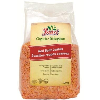 Inari Organic Red Split Lentils