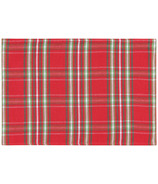 Now Designs Woven Placemat Noel Plaid