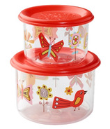 Sugarbooger Good Lunch Snack Containers Birds and Butterflies