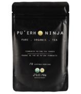 Poudre de thé Pu'Erh fermenté Matcha Ninja