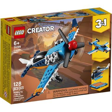 LEGO Creator 3-in-1 Propeller Plane Building Kit