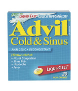 Advil Cold & Sinus Liqui-Gels