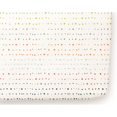 Petit Pehr Painted Dots Crib Sheet