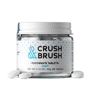 Nelson Naturals Crush and Brush Mint Glass Jar