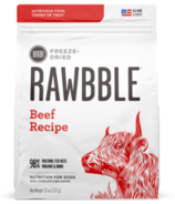 BIXBI Rawbble Freeze-Dried Dog Food Beef