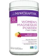 New Chapter Women's Magnesium Powder + Tart Cherry