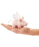 Folkmanis Winged Piglet Finger Puppet