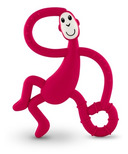 Matchstick Monkey Dancing Monkey Teether Rubine Red