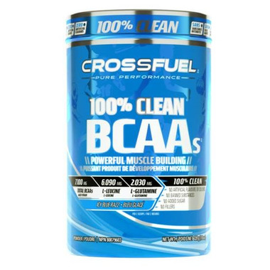 Crossfuel 100% Clean BCAA\'s Blue Raspberry