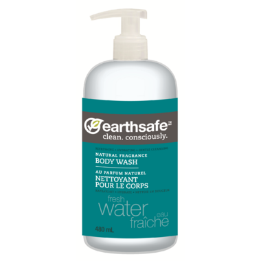 EarthSafe Fresh Water Body Wash Natural Fragrance