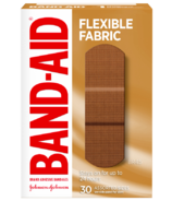 Band-Aid Flexible Fabric Adhesive Bandages Assorted Sizes