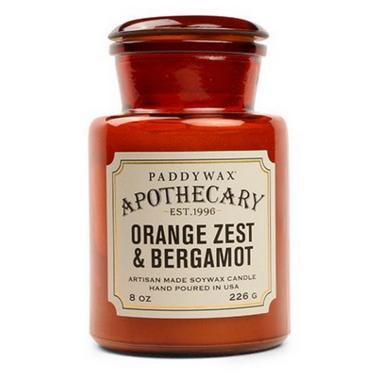 Paddywax Apothecary Candle Orange Zest & Bergamot