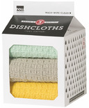 Now Designs Milk Carton Dishcloths Zest, Cloud & Jade