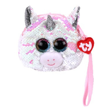 Ty Fashion Diamond the Unicorn Sequin Wristlet