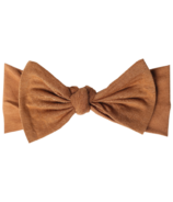 Copper Pearl Camel Knit Headband
