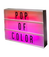 My Cinema Lightbox Multicoloured