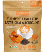 Rootalive Organic Turmeric Chai Latte