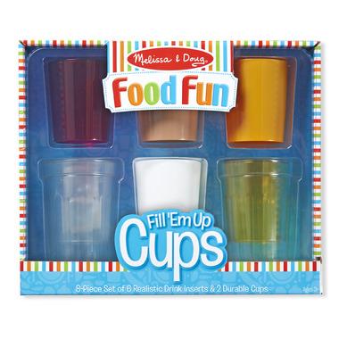 Melissa & Doug Food Fun Fill \'Em Up Cups