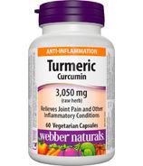 Webber Naturals Turmeric Curcumin 600 mg