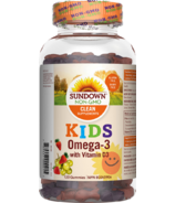Sundown Naturals Kids Omega-3 with Vitamin D3 Gummies