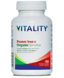Vitality Power Iron + Organic Spirulina
