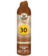 Australian Gold SPF 30 Continuous Spray Sunscreen with Instant Bronzer