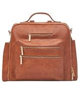 The Honest Company Cross Country Diaper Bag Cognac